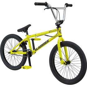 "GT Bicycles Slammer 20"" glossy yellow/black splatter"